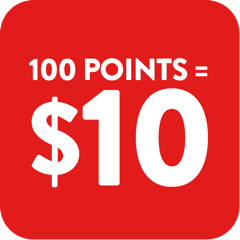 100 Points = $1