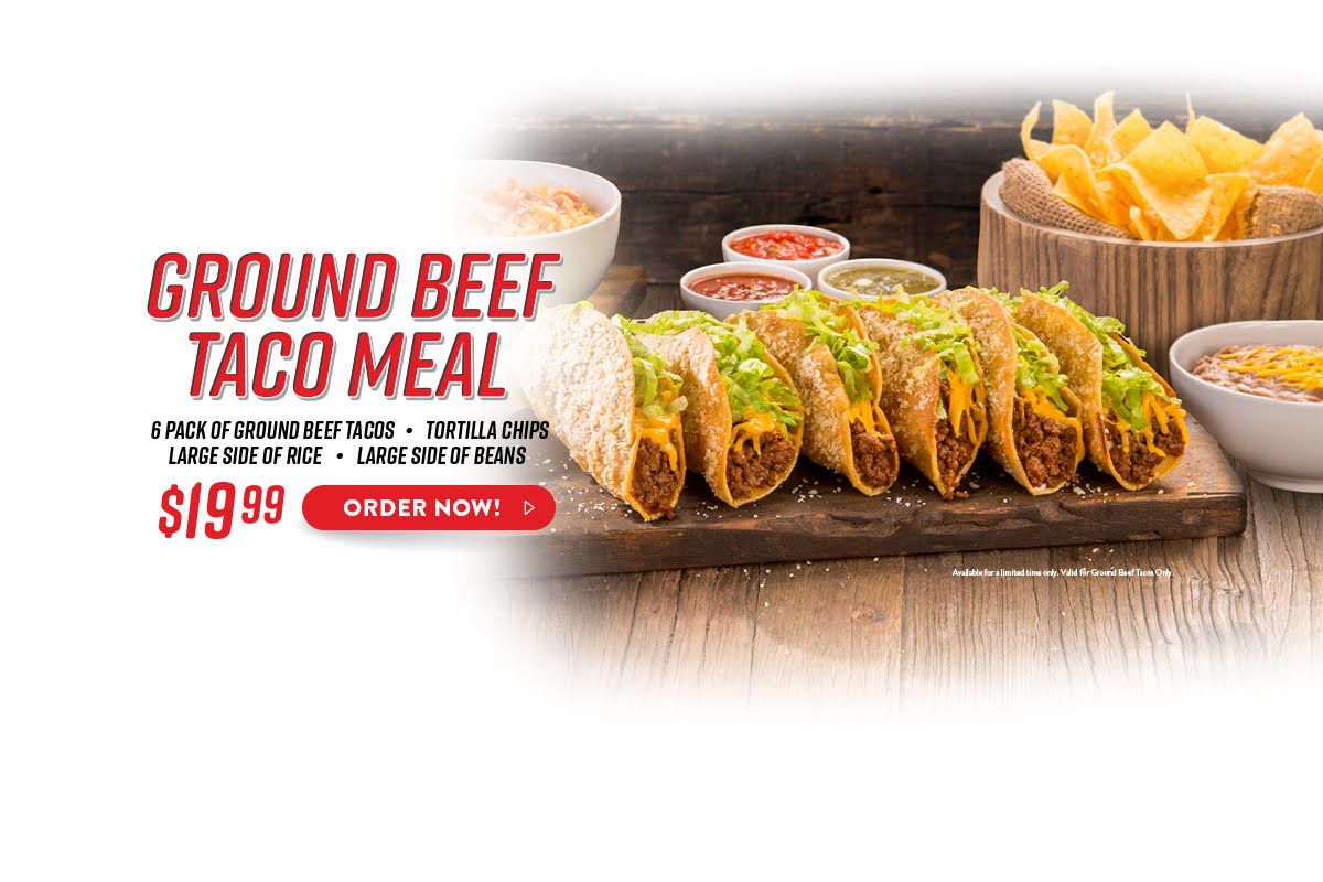 Ground Beef Taco Meal Deal