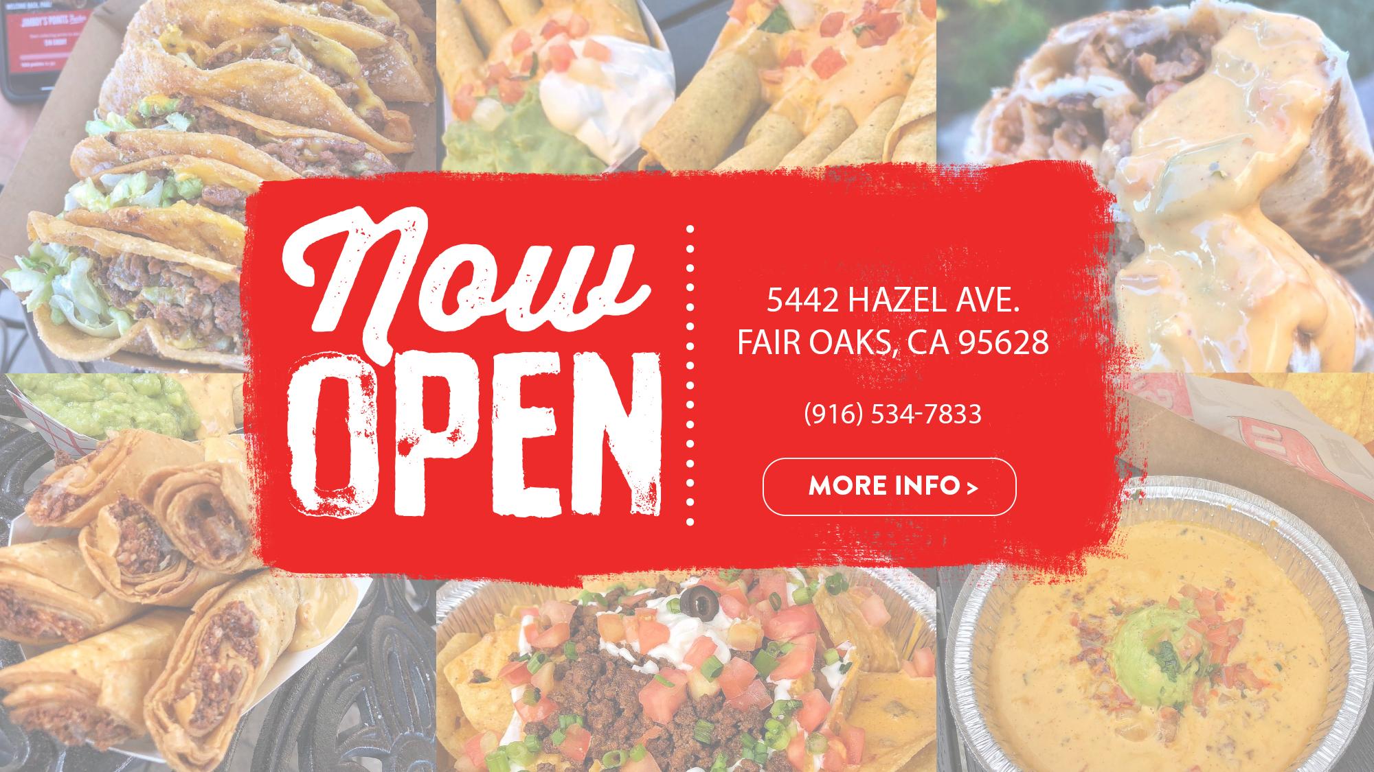Fair Oaks Now Open