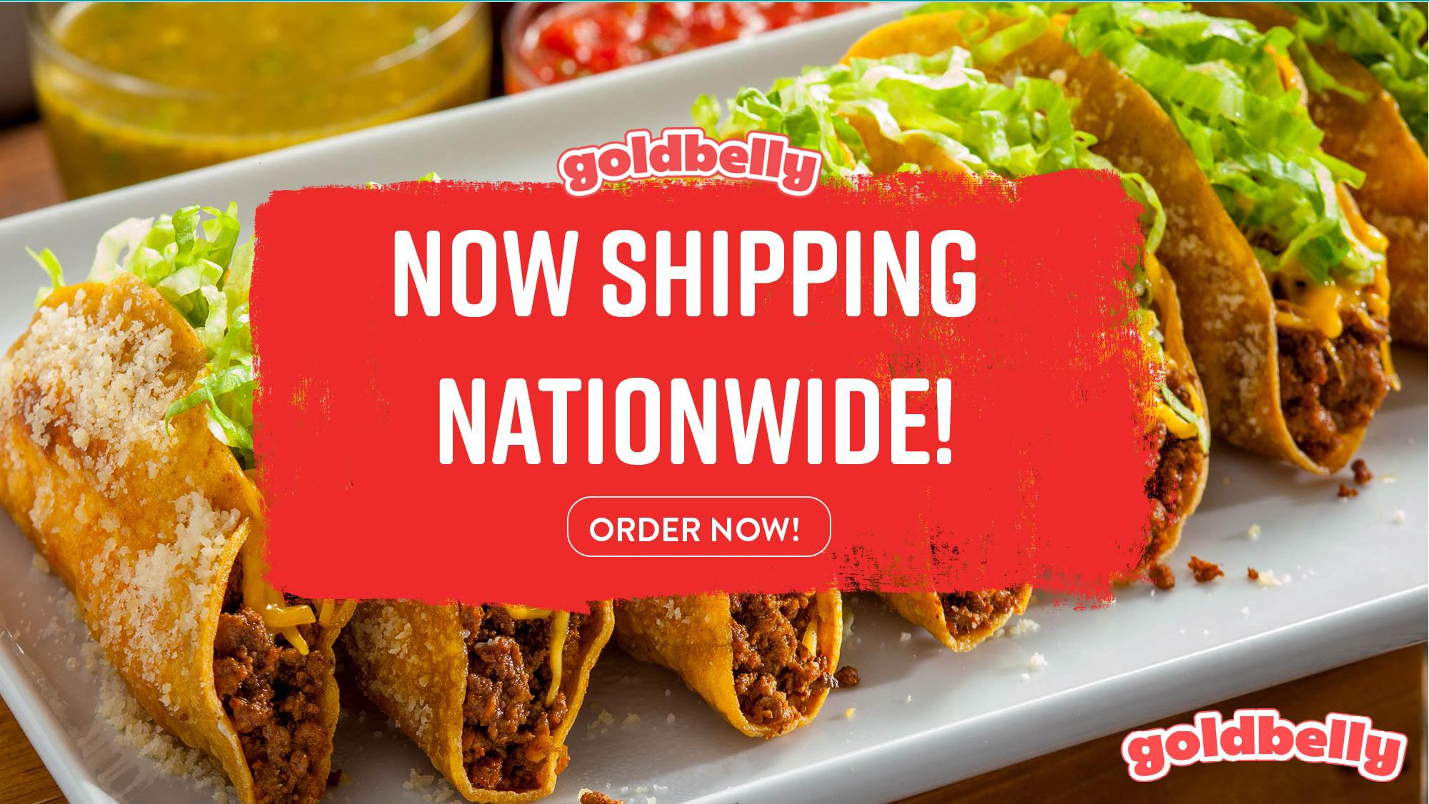 Goldbelly, Nationwide shipping and FoodExplorer