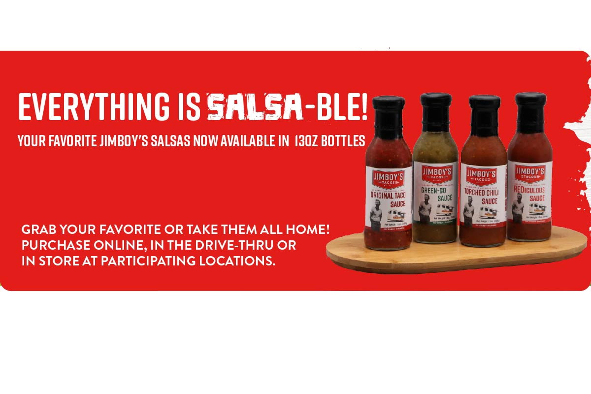Spice up At Home Meals with Jimboy's Bottled Salsas!