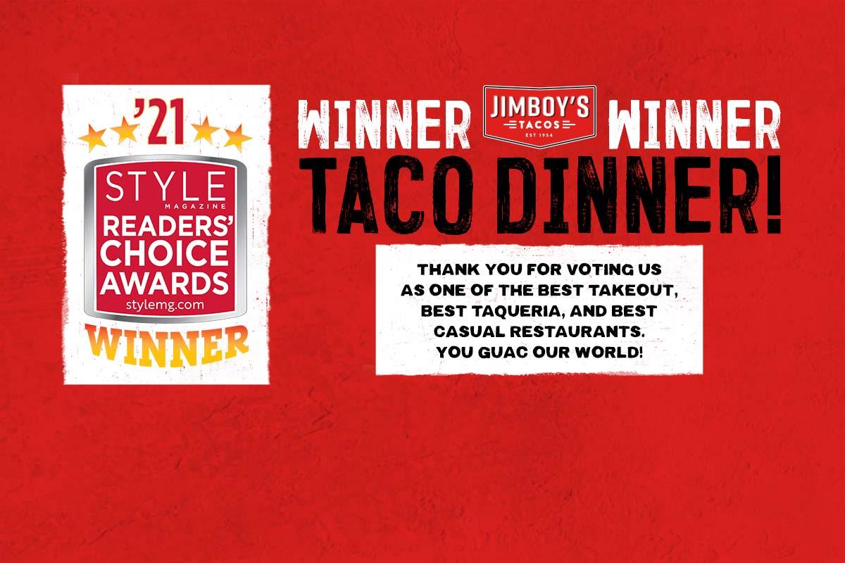 Winner Winner Taco Dinner